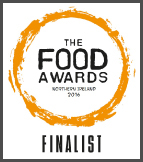 The Food Awards Northern Ireland Finalist 2016