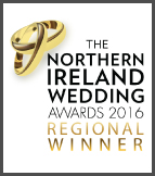 The Northern Ireland Wedding Awards Regional Winner 2016
