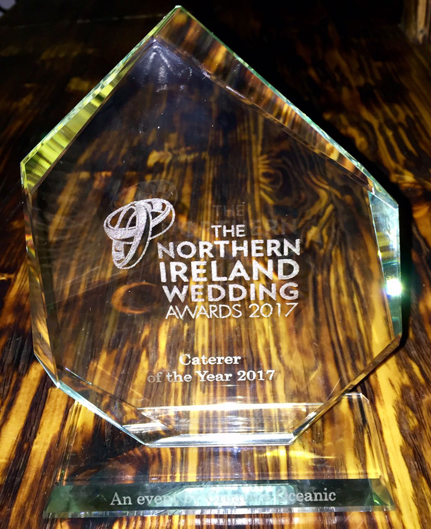 Northern Ireland Wedding Awards Caterer of the Year 2017